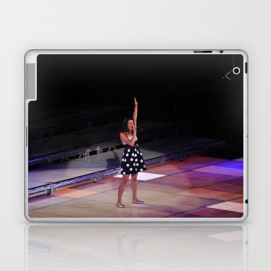 Glee Concert: Lea Michele Laptop & iPad Skin