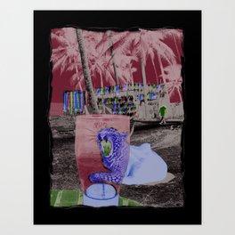 PINT GLASS Art Print