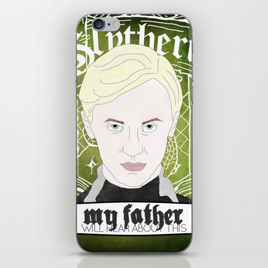 Draco Malfoy from Harry Potter  iPhone & iPod Skin