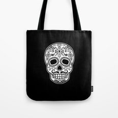 Mexican Skull - Black Edition Tote Bag