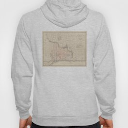 Vintage Map of Jacksonville FL (1878) Hoody