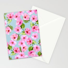 Ibiscus Dance Stationery Cards