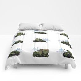 WWII combat vehicles (USSR) Comforters