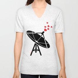 Love Antenna Unisex V-Neck