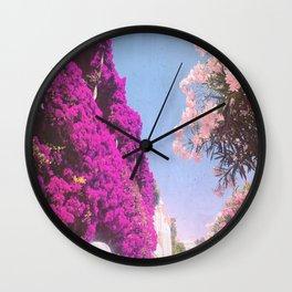 Summer Dreamin' Amalfi Coast Wall Clock