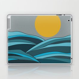The ocean, waves and sun Laptop & iPad Skin