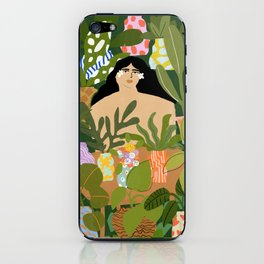 I Need More Plants iPhone Skin