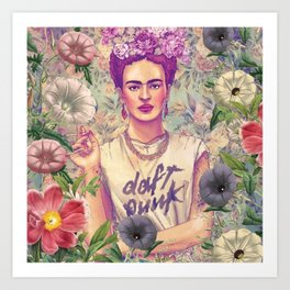 Frida Kahlo III Art Print