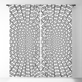 Hypnotic Critical Roll Illusion Blackout Curtain