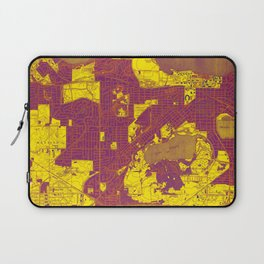 Madison West Wisconsin vintage map year 1959, rustic map, poster map Laptop Sleeve