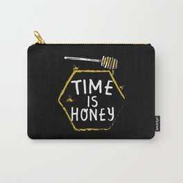 Time Is Honey - Beekeepers Beekeeping Carry-All Pouch