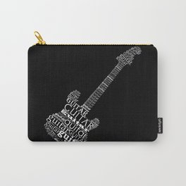 Typographic guitar Carry-All Pouch