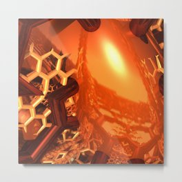 Honey Metal Print