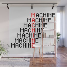 Machine Wall Mural