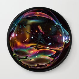 Galactic Bubble Wall Clock