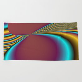 for yoga and more -17- Beach Towel