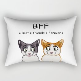Best Friends Forever Rectangular Pillow