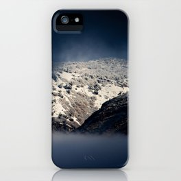 Looking Through The Mist iPhone Case
