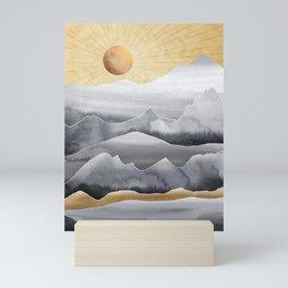 Mountainscape / Day Mini Art Print
