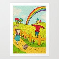 Il mago di Oz, Wizard 01 Art Print
