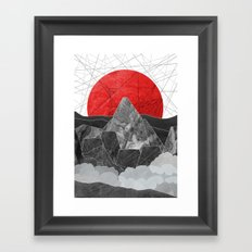 The Rising Sun  Framed Art Print