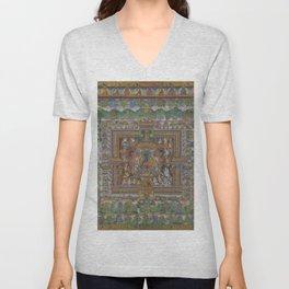 Medicine Buddha Unisex V-Neck