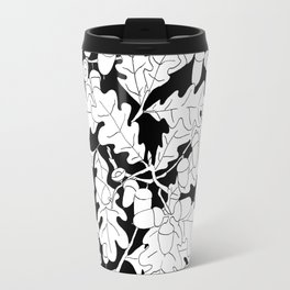 Composition of Oak Leaves and Acorns Travel Mug