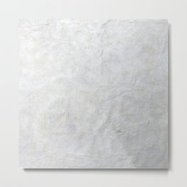 Neutral Crackle  - Perfect For Photo Backdrop Metal Print