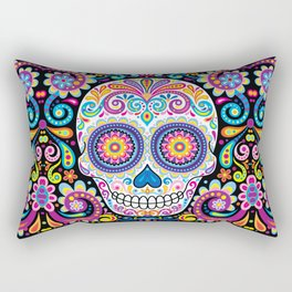 Sugar Skull (Cosmos) Rectangular Pillow