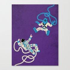 Strange Encounters  Canvas Print