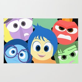 Pixar Animated Movie Inside Out Rug