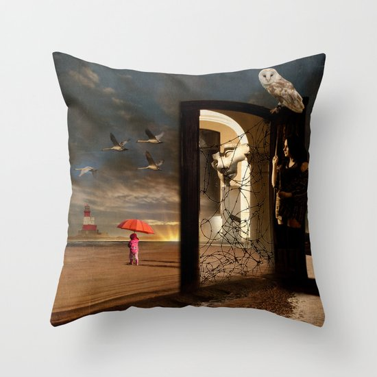 No Return Throw Pillow