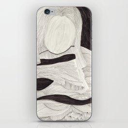 Tangle face iPhone Skin