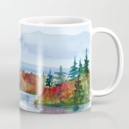 Mirror Lake in Autumn Coffee Mug