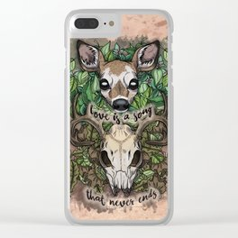 Love is a Song (2017) Clear iPhone Case