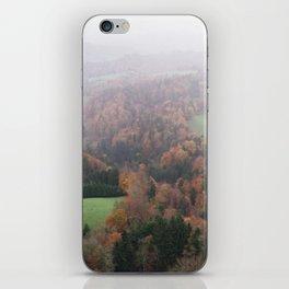 FOGGY SWITZERLAND iPhone Skin
