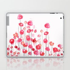 Poppies in Pink Laptop & iPad Skin