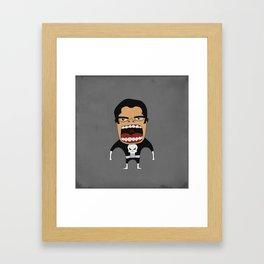 Screaming Punisher Framed Art Print