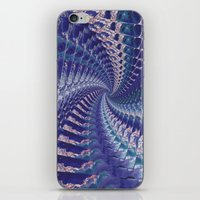 psych iPhone & iPod Skins featuring Purple Psych v2 by Grace Phillips