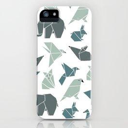 Animals pattern iPhone Case