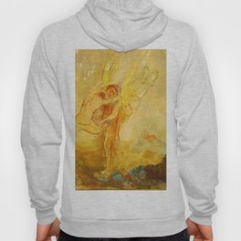 "Odilon Redon ""Jacob Wrestling with the Angel"" Hoody"