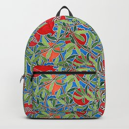 Pomegranate Branches and Fruit Backpack