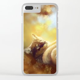 Last Days of Fall Clear iPhone Case