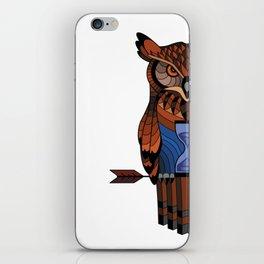 Owl time iPhone Skin