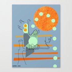 Owl Pellets Canvas Print