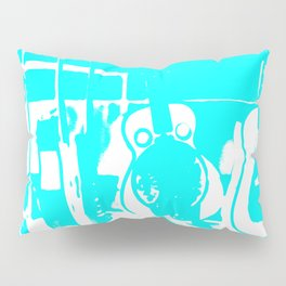 Sun Studio Guitars, Blue Pillow Sham