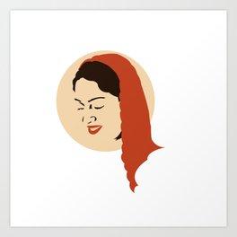 India Beauty Art Print