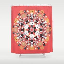 Catleidoscope Shower Curtain