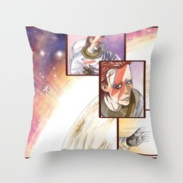 The Starman Throw Pillow