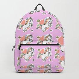 Kawaii unicorn #1 - She believe, she could, so she did Backpack
